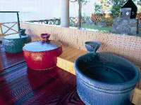Barrel bath for 1 to 2 persons
